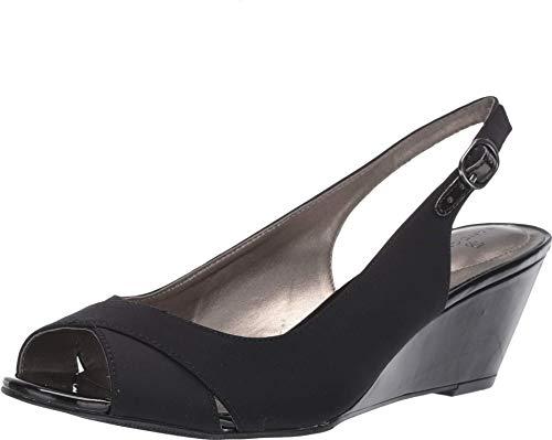 Bandolino Womens Highline Black Fabric 6.5 M