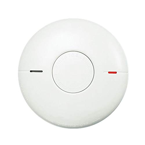 Smoke Alarm and Carbon Monoxide Detector 10-Year Lithium Battery with Photoelectric Sensor, Compliant with UL 217/2034 Standard, Auto-Check & Test Button,White (Smoke and Carbon)