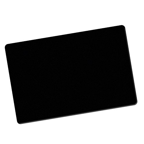 Close-Up Pad SCHWARZ, Rutschfeste Unterlegmatte für Zaubertricks, Karten-Unterlage Tisch, Mikrounterlage, Micro-Unterlage, Tischunterlage