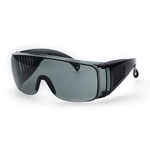 fengzong Gafas de protección Laboral Industrial Gafas Protectoras de Infrarrojos Anti láser Lentes de PC Antivaho Anti-UV Anti-Impacto Gafas (Gris)