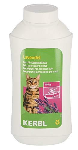 Kerbl 82673 Deo-Konzentrat für Katzentoilette, Lavendel, 700g