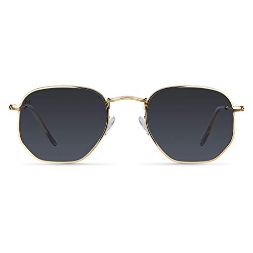 Meller Eyasi Gold Carbon - UV400 Polarisiert Unisex Sonnenbrillen