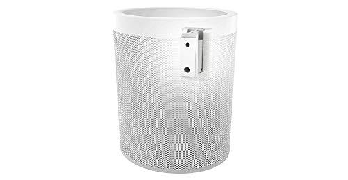 Cavus Lautsprecher-Wandhalterung, geeignet für Yamaha MusicCast 20, schwenkbare und neigbare Wandhalterung, CMY20W, Weiß