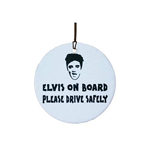 Ali Air Freshener Elvis On Board Auto Lufterfrischer