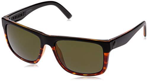 Electric Swingarm XL - Gafas de sol cuadradas, negro (Dark Side Tort/Ohm Polar Gris), Talla única