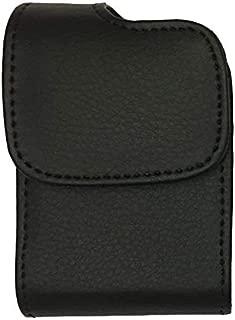 Premium Classic Style Pouch case with Belt Clip for Tandem Diabetes Care Insulin Pump (T:Flex Pump/T:Slim G4 Pump/T:Slim X2 Pump) (Black/Vertical/1)