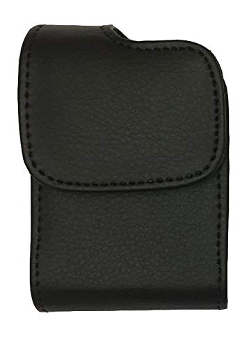 Classic Premium Pouch Case with Belt Clip for Animas Vibe Insulin Pump -SNK Retail Packaging (V1/Black)