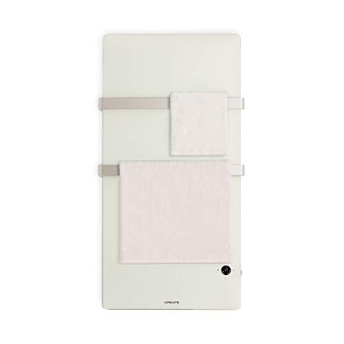 CREATE IKOHS Warm Towel Cristal - Toallero Electrico de Cristal con WiFi,...