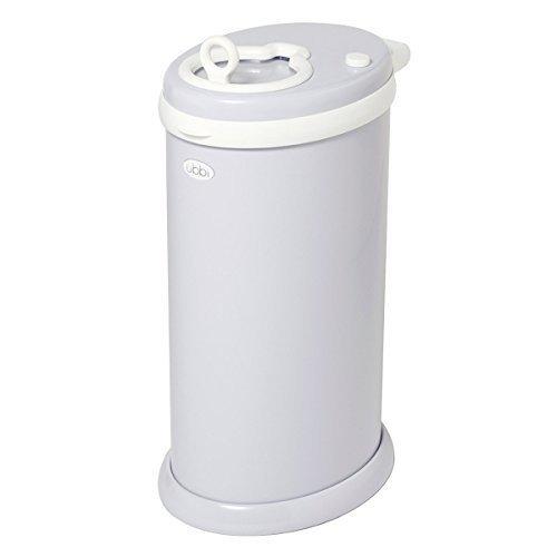 Ubbi U10006 - Contenedor de pañales, color gris