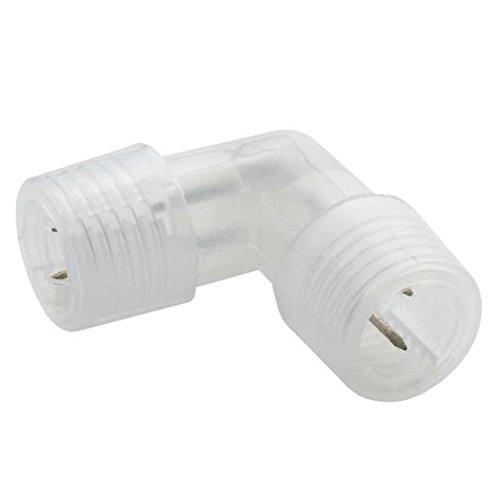 90°-Eckverbinder für LED Lichtschlauch - GIVRO-90L-System-Zubehör