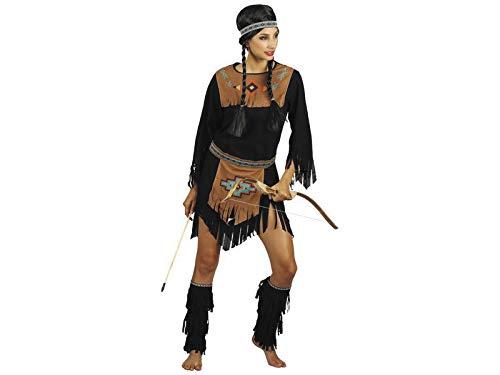DISONIL Disfraz India Mujer Talla M