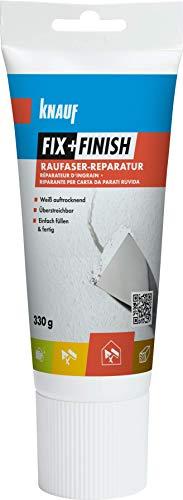 Knauf 594058 Fix+Finish Raufaser-Reparatur, weiß, 330 g
