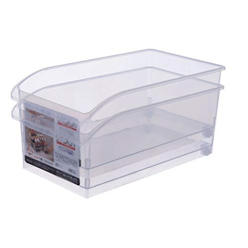 Fiambrera Fresca de mantenimiento de la caja de refrigerador de cocina de almacenamiento caja de plástico transparente independiente cajón del...