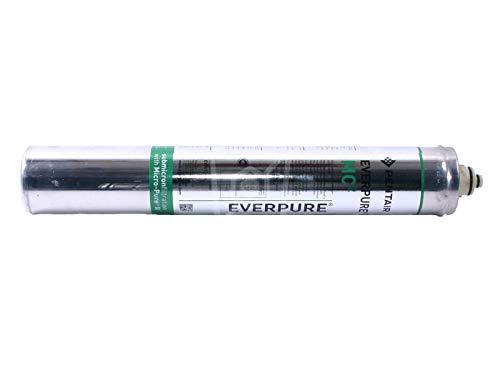Everpure MC2 waterfilter voor filterkop QL2/QL3, koude dranken Hoogte 530 mm ø 80 mm 8,5 bar ingang 6,3 l/min actieve koolfiltratie