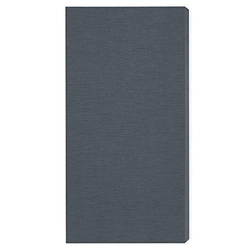 Elemento fonoassorbente'Brushed Pro M': 116 * 58 * 6.5cm, Grigio