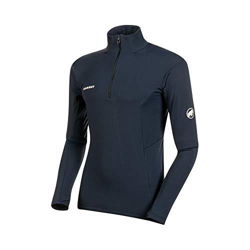 Mammut Herren Camiseta M/L Moench Advanced Half Zip Langärmliges Shirt, Nacht, XL