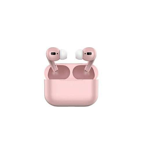Inpods 12 Auriculares Inalámbricos Bluetooth V5.0 Auriculares Bluetooth con Cancelación de Ruido Micrófono Incorporado y Funda de Carga Auriculares Deportivos Rosa