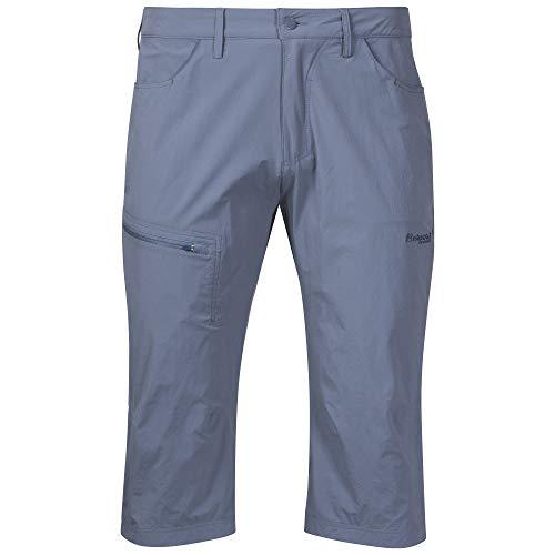 Bergans Moa Pirate Pantalon 3/4 pour homme, Bleu Fogblue-Fogblue., xl
