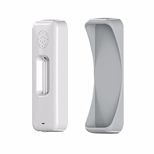 ZXAOYUAN Lámpara de desinfección UV-C portátil, luz germicida Recargable USB, lámpara de desinfección UV-C portátil para Viajar Inicio de casa, tasa antibacteriana 99%