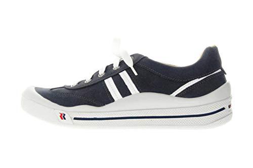 Romika Tennis Master 220 Sportschuhe in Übergrößen Blau 41010 96 503 große Herrenschuhe, Größe:47