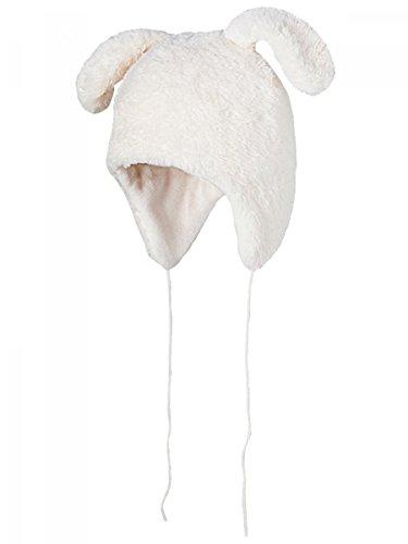 Baarts-Chapka Bunny fleecevacht wit ivoorkleurig baby meisjes van 12 tot 18 maanden