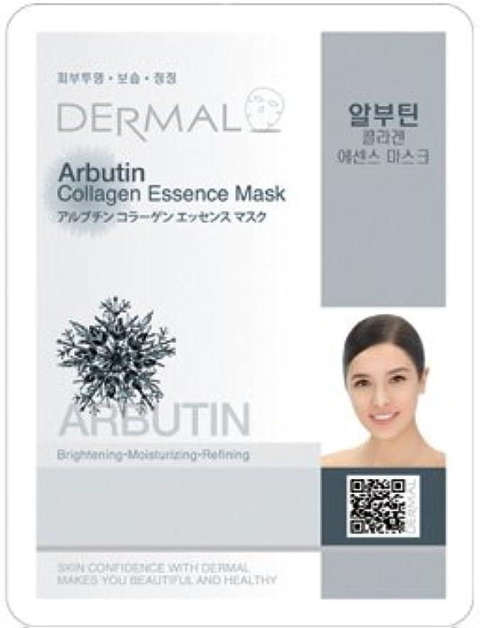 コンパクト読書をする関数Dermal(ダーマル) シートマスク アルブチン 100枚セット