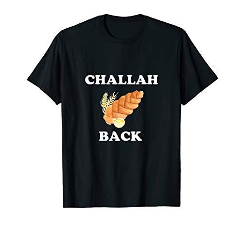 Bread Tees: Challah Back Funny Jewish T-Shirt