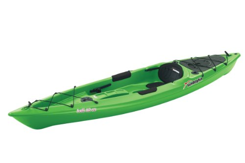 SUNDOLPHIN Sun Dolphin Bali SS Sit-on top Kayak (Lime, 12-Feet)