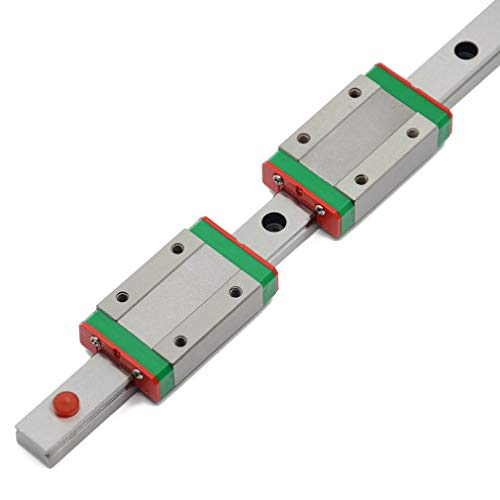Price comparison product image ReliaBot 350mm MGN12 Linear Rail Guide with 2pcs MGN12H Carriage Block for 3D Printer and CNC Machine