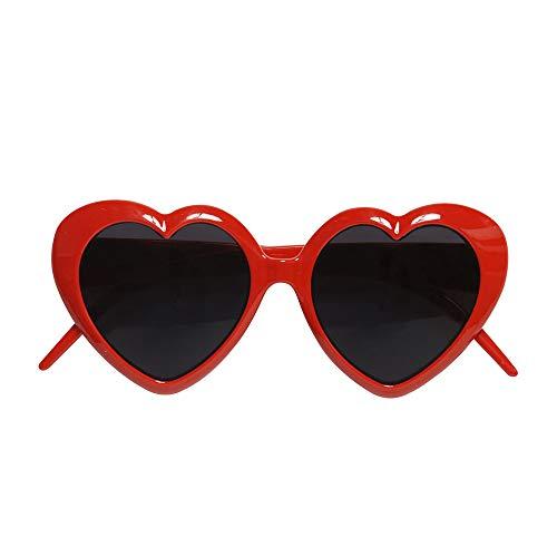 MIK funshopping Sonnenbrille Hearts red sei eine süße Lolita!