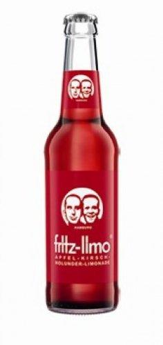 Fritz Kola Apfel-Kirsch-Holunder-Limonade 24 x 0,33 Liter