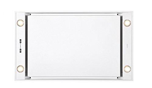 Novy Deckenhaube Pureline 90cm/extern weiß mit LED 6836
