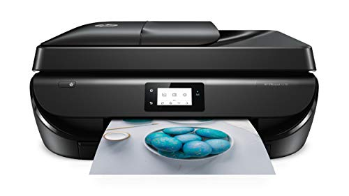 HP OfficeJet 5230 Multifunktionsdrucker (Instant Ink, Drucker, Kopierer, Scanner, Fax, WLAN, Airprint) mit 4 Probemonaten HP Instant Ink inklusive