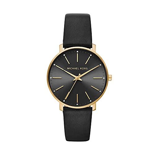 Michael Kors Damen Uhr mit Leder Armband MK2747