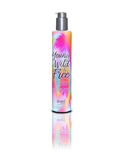 DEVOTED CREATIONS YOUNG WILD & FREE TANNING ACCELERATOR LOTION CREAM 274ML...