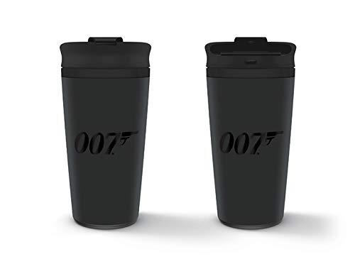 James Bond - Taza Metálica De Viaje 007, 425ml