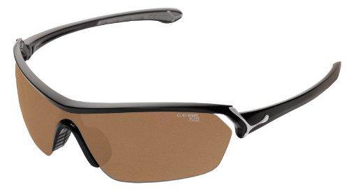 Cébé Sonnenbrille Eyemax (shield), Shiny Black, M