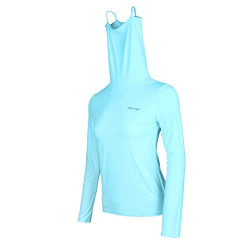Sharplace - Golf-Blusen für Damen, Größe Schwarz 2XL