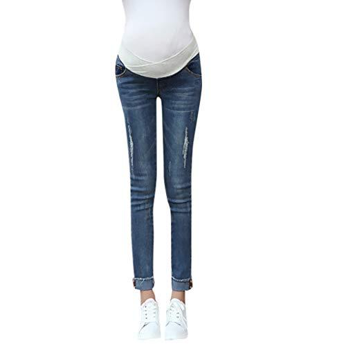 Topgrowth Pantaloni Premaman Leggings maternit/à Interno Pantaloni Lunghi Pantacollant Leggings Donna Skinny Elastico Gravidanza Collant