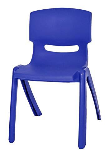 Skyline Hobby Blue Stackable Kids Children Plastic Chair