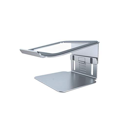 hongbanlemp Soportes para Portátiles Soporte PC de Escritorio Aumento del período de aleación de Aluminio del radiador Ajustable suspensión Soporte Ordenador Portátil