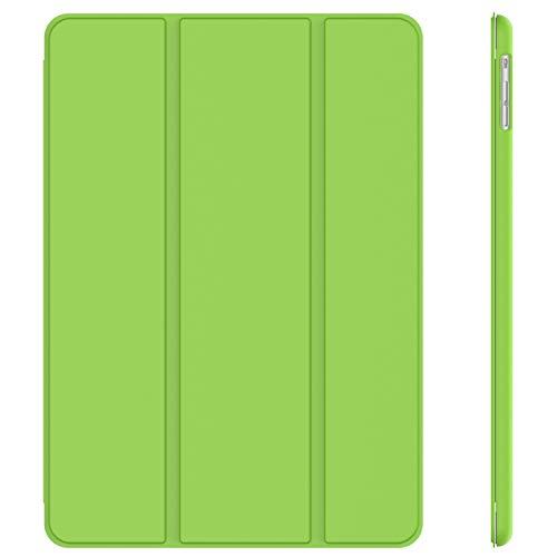 JETech 0462 Hülle für Apple iPad Air (2013 Modell), Schutzhülle mit Ständer Funktion & Auto Schlaf/Wachen, Grün