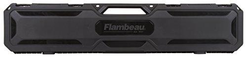 "Flambeau Outdoors 6448SC 48"" Express Gun Case, Portable Scoped Rifle or Shotgun Storage Accessory , Black"