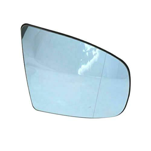 Espejo Retrovisor Espejo Ala Espejo Lateral De Vidrio Estilo Climatizado Para-bmw X5 X6 E70 E71 E72 2007-2014 Derecho Rh 51167174982 (Color : Blue)