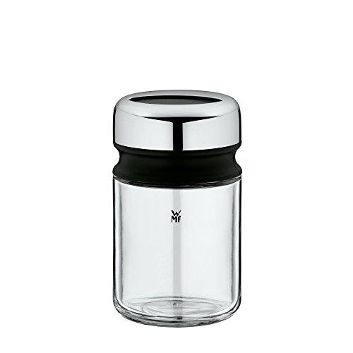 WMF Depot Feinstreuer 100ml, mit Aromadeckel, Gewürzglas feines Streubild, Glas, Cromargan Edelstahl, spülmaschinengeeignet