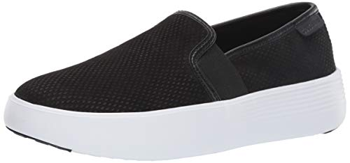 Cole Haan Grand Crosscourt Flatform Slip ON Sneaker, Black, 5.5 B US