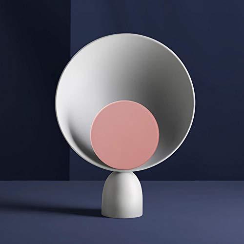 MGWA Lámpara de Escritorio Lámpara De Mesita De Noche Regulable De Estilo Nórdico Personalidad De Diseño De Moda Creativa Lámpara De Estudio De Sala De Estar Moderna Simple (D26 * H35CM)
