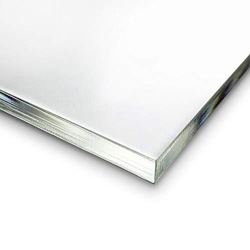 Plexiglas® Platte GS I farblos, transparent, Glas-klar I im Zuschnitt I DIY I beidseitig foliert I 5 mm stark 30 x 40 cm I P_005