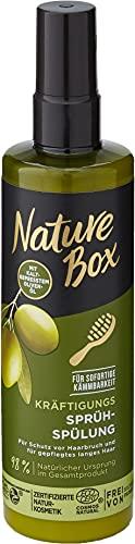 Nature Box Kräftigungs-Sprüh-Spülung Oliven-Öl, 200 ml