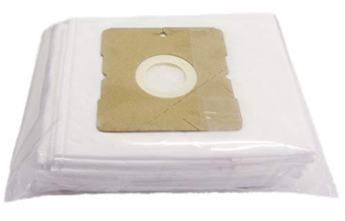 Bestron Staubbeutel-Set für Bestron-Staubsauger, 10 Beutel, Weiß